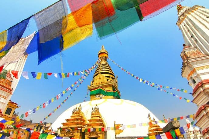 ネパールでおすすめの観光地はスワヤンブナート寺院