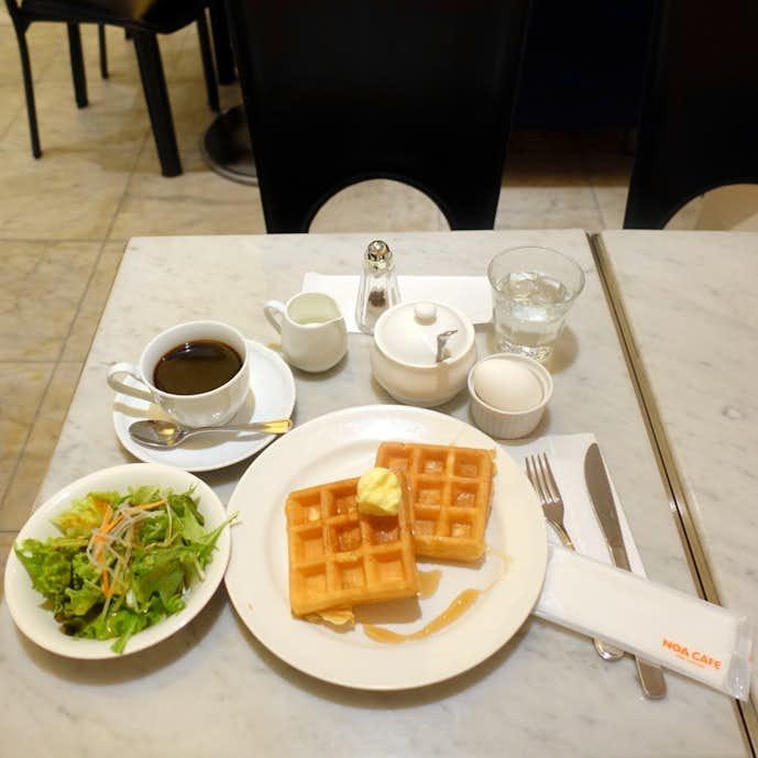 ノア カフェのおすすめメニューはモーニングセット