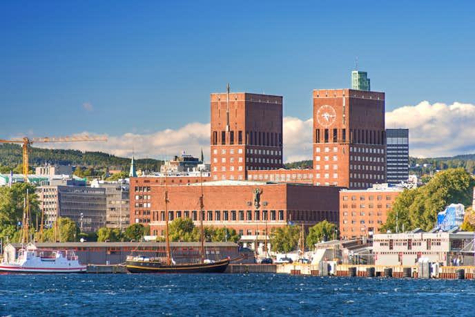 ノルウェーでおすすめの観光地はオスロ市庁舎