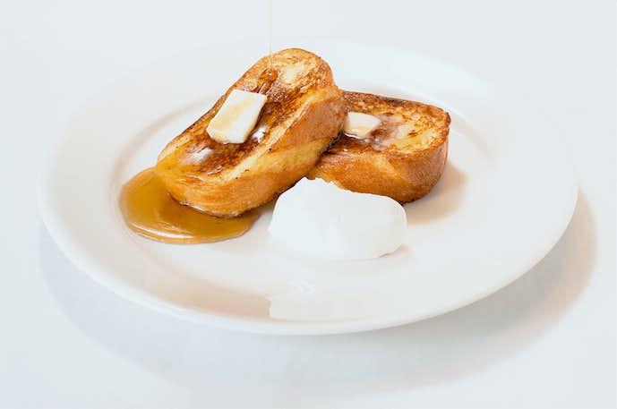 Toasty'sのおすすめメニューはフレンチトースト