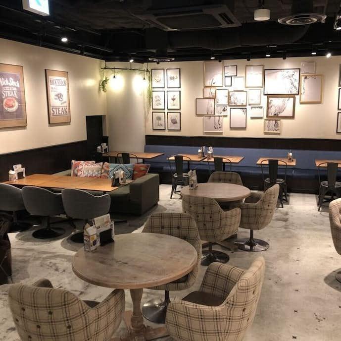 横浜駅でおすすめのモーニングは肉が旨いカフェ NICK STOCK 横浜ポルタ店