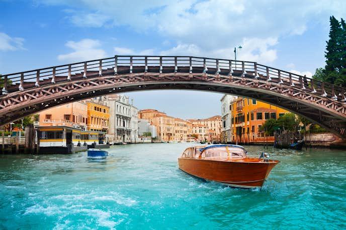 ベネチアでおすすめの観光地はアカデミア橋