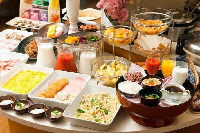 レストラン ピノのおすすめメニューは朝食バイキング