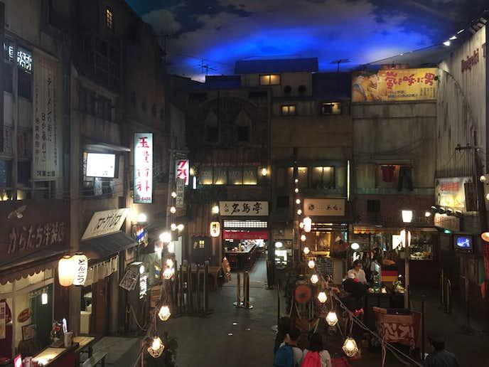 雨の日のみなとみらいデートは新横浜ラーメン博物館