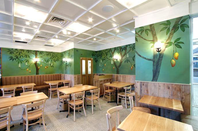 品川でおすすめのモーニングはマンゴツリーカフェ+バー