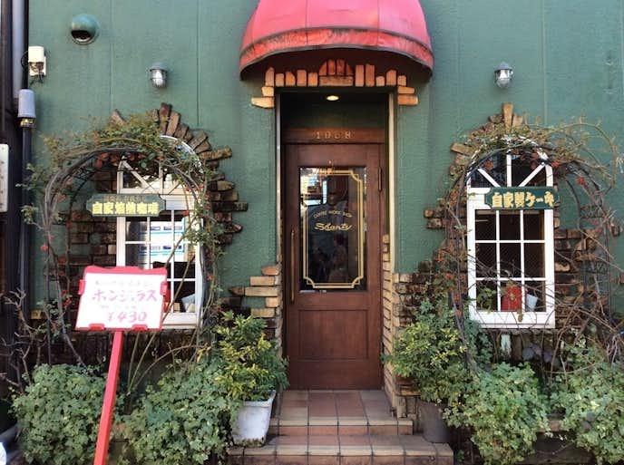 北千住のおすすめカフェ「シャンティ」