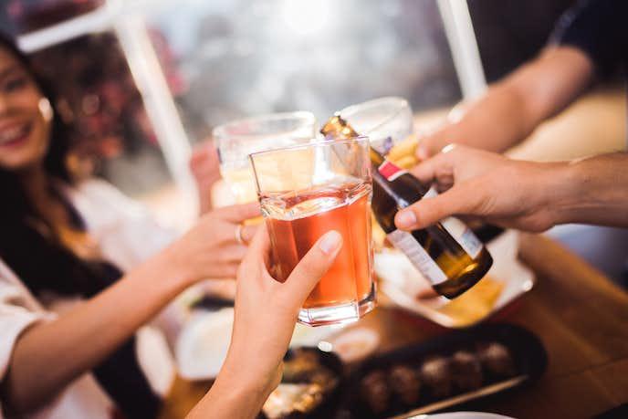お酒で失敗する人が飲む前にすべきこと