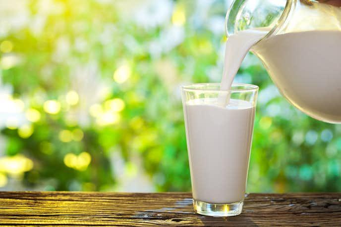 スムージーの美味しい飲み方で牛乳