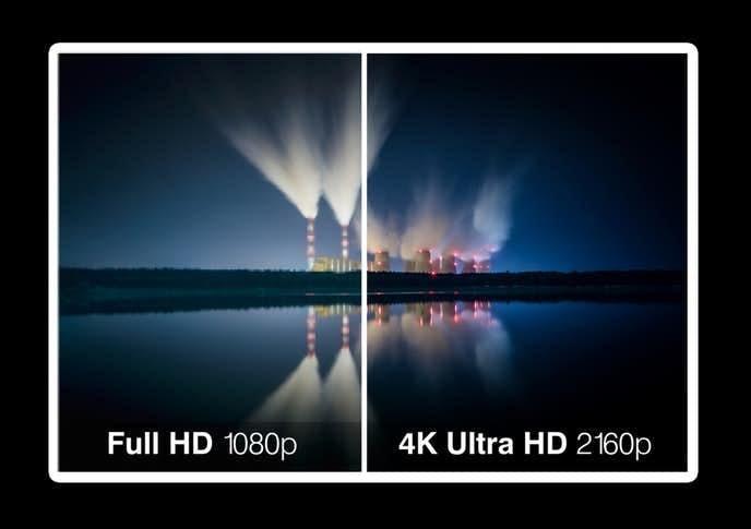 フルHDと4Kの違いとは