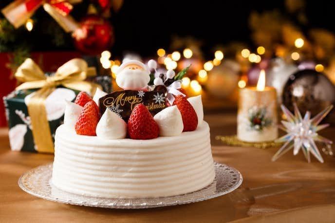 彼氏へのクリスマスプレゼントはクリスマスケーキ