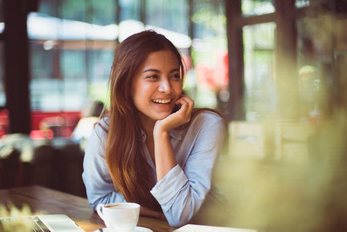 美しい女性になるには笑顔になる