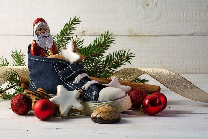 彼氏へのクリスマスプレゼントはスニーカー