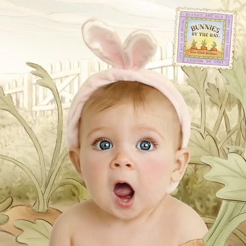 女の子の出産祝いにおすすめなのはウサギの耳付きヘアバンド