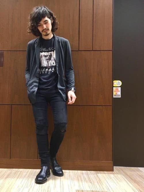 30代男性のクラブファッション