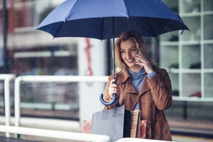お母さんの誕生日プレゼントは傘
