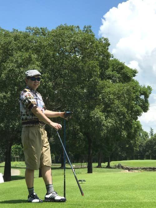 30代男性のゴルフコーデ