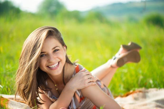 女性が好きな人に見せる笑顔