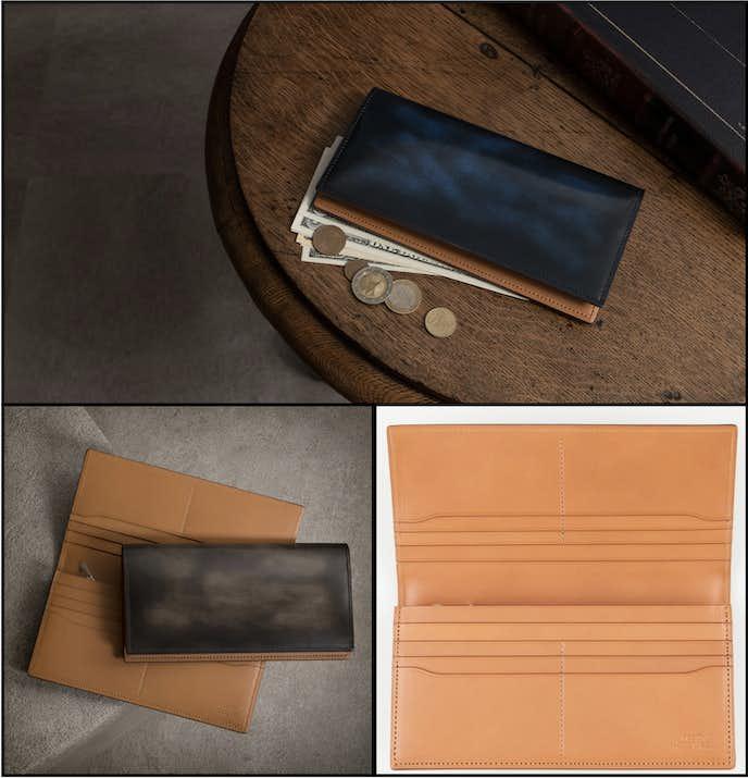 彼氏が喜ぶ財布のクリスマスプレゼント:アドバン長財布
