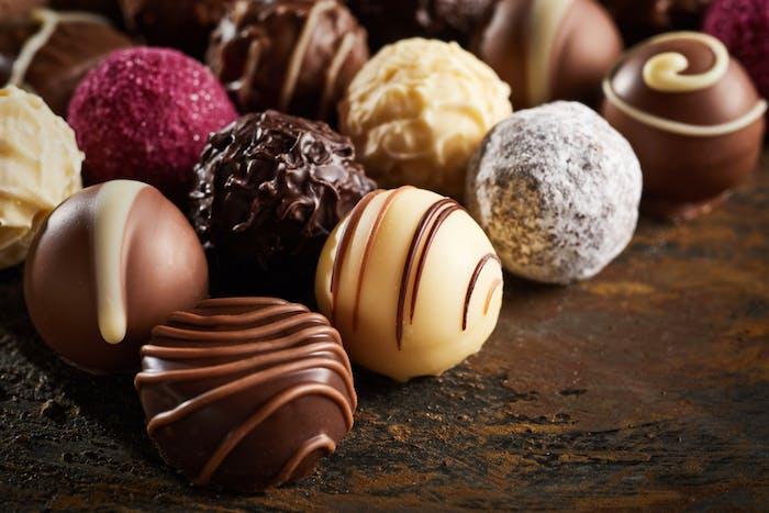 チョコ バレンタイン 板 腹筋