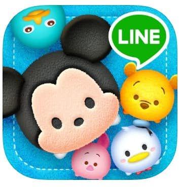 LINE:ディズニー ツムツム ロゴ