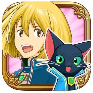 クイズRPG 魔法使いと黒猫のウィズ ロゴ