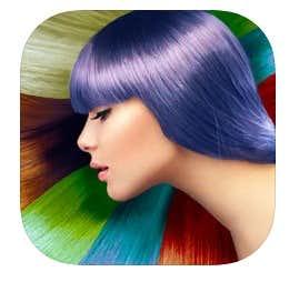 髪 染める アプリ