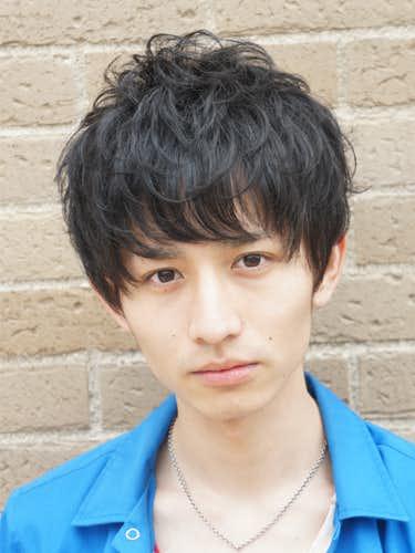 イメチェン 男 髪型