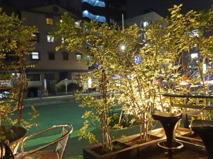 代官山 天現寺カフェ 夜