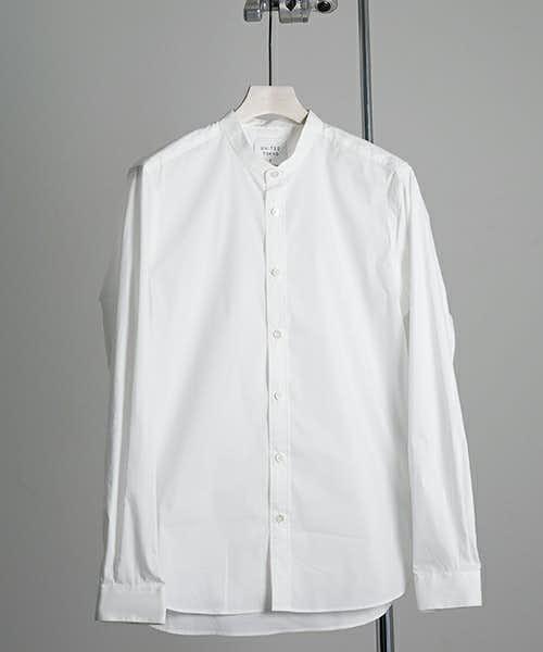 バンドカラーシャツの特徴