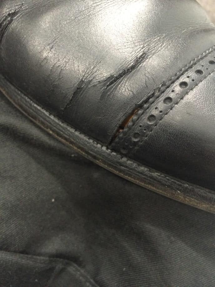 革靴 長持ち