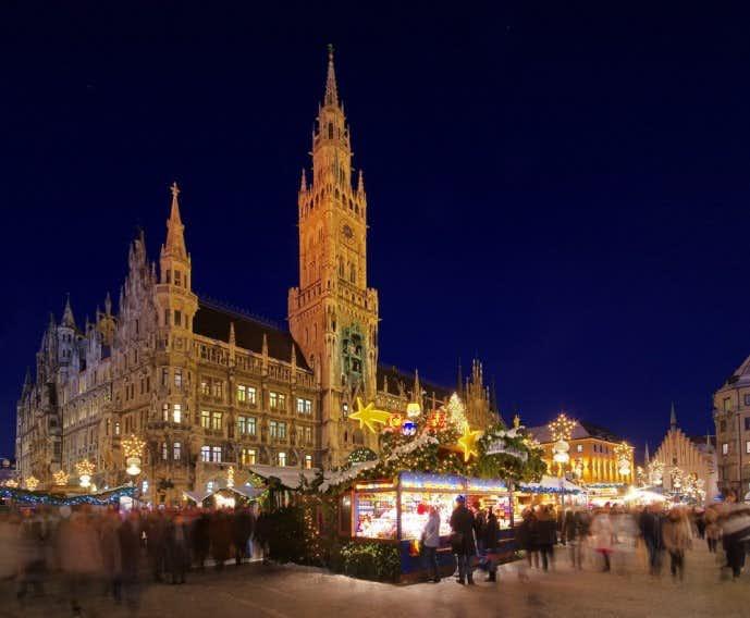 ドイツ・ミュンヘンのクリスマスマーケット
