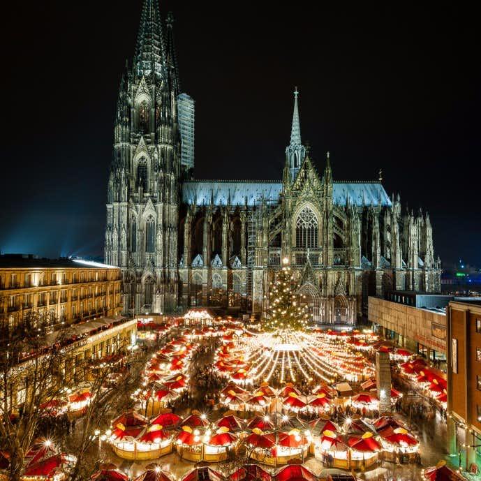 ドイツ・ケルンのクリスマスマーケット