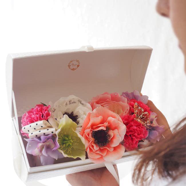 結婚祝いのプレゼントにメリアルームのお花