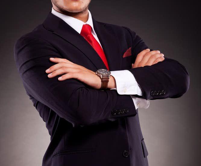 ブラックスーツ ネクタイ
