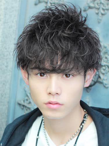 g-dragon風の無造作髪型