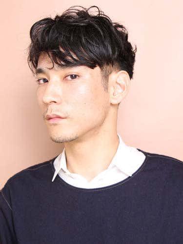 アシメ メンズ 髪型