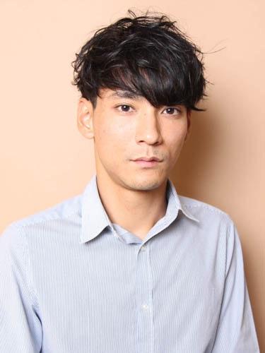 王道ナチュラルショートヘアスタイル. 松田翔太風の髪型