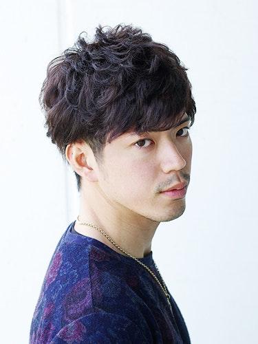 【アッシュブラウン】暗め明るめの髪色トーン別メンズヘアカタログ