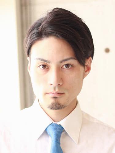 メンズ 髪型 ビジネスマン