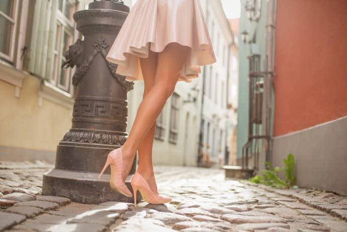 処女 見分け方 歩き方
