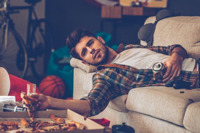 20代、30代の男性に多い生活習慣の乱れ