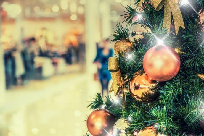 クリスマスに財布をプレゼントする