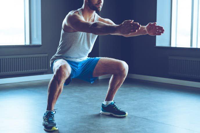 フロッグジャンプで体幹を鍛える