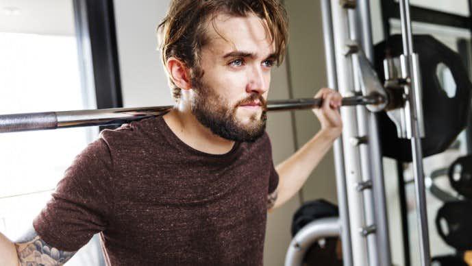 脊柱起立筋を鍛えるグッドモーニングトレーニング