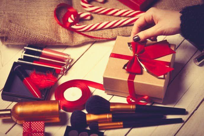 クリスマスに美容グッズをプレゼント