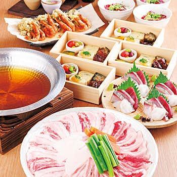 茶茶南青山のディナー料理