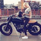 バイク美女