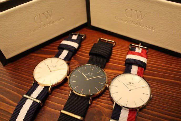 魅力が沢山あるダニエルウェリントンの時計のコレクション
