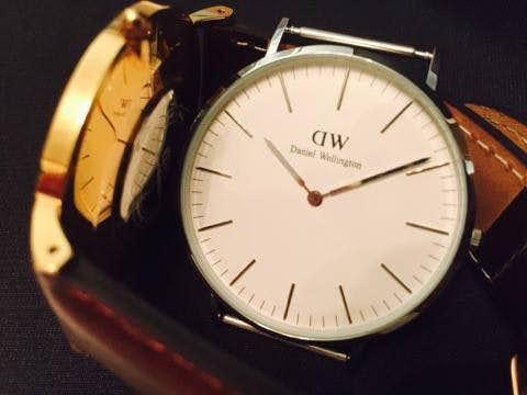 ダニエルウェリントンの時計