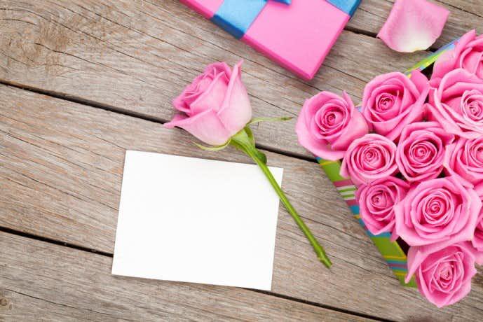 ホワイトデーに花の贈り物を